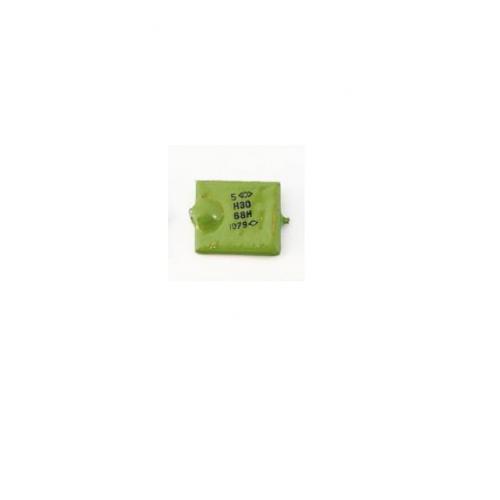 Куплю конденсатор КМ зеленые 5H30 68H