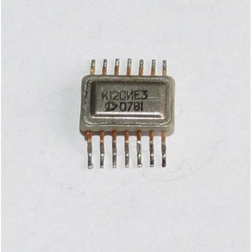 Куплю микросхему К120ИЕ3