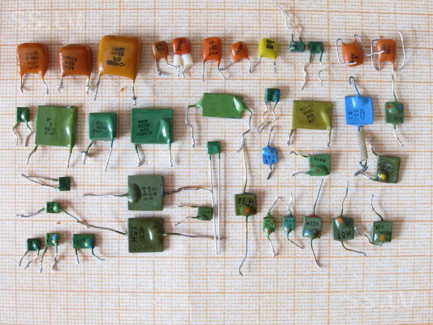 импортные керамические конденсаторы фото часто люди совершают